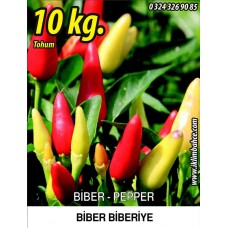 Biber Tohumu Biberiye - Batem Alpçelik - 10 Kg
