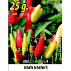 Biber Tohumu Biberiye - Batem Alpçelik - 25g (~ Takribi 3000 Tohum)