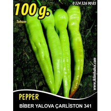 Biber Tohumu Yalova Çarliston 341 - 100g