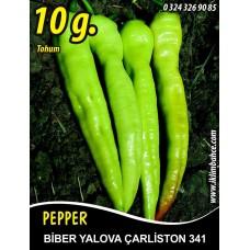 Biber Tohumu Yalova Çarliston 341 - 10 g (~ Takribi 800 Tohum)