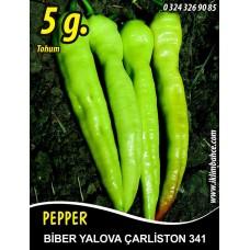Biber Tohumu Yalova Çarliston 341 -  5 g (~ Takribi 400 Tohum)