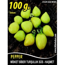 Biber Tohumu Haşmet - Misket - 100g