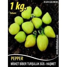 Biber Tohumu Haşmet - Misket - 1 Kg
