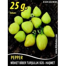 Biber Tohumu Haşmet - Misket - 25g (~ Takribi 2000 Tohum)