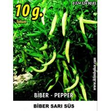 Biber Tohumu Sarı Süs - 10 g (~ Takribi 800 Tohum)
