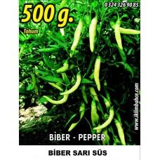 Biber Tohumu Sarı Süs - 500g