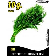 Dereotu Tohumu Toros Meltemi - 10 g (~ Takribi 6000 Tohum)