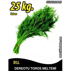 Dereotu Tohumu Toros Meltemi - 25 KG
