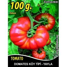 Domates Tohumu Mermande - Köy Tipi - Yayla 100 g.