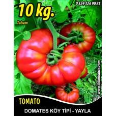 Domates Tohumu Mermande - Köy Tipi - Yayla - 10 KG