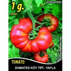 Domates Tohumu Mermande - Köy Tipi - Yayla - 1g (~ Takribi 150 Tohum)