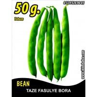 Fasulye Tohumu Bora ( Oturak ) - 50 g (~ Takribi 150 Tohum)