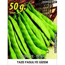 Fasulye Tohumu Gizem ( Oturak ) - 50 g  (~ Takribi 150 Tohum)