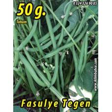 Fasulye Tohumu Tegen ( Oturak ) - 50 g  (~ Takribi 150 Tohum)