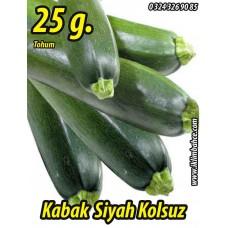 Kabak Tohumu Siyah Dolmalık - 25 g. (~ Takribi 90 Tohum)