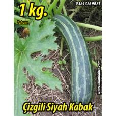 Kabak Tohumu Siyah (Çizgili) Kızartmalık - Dökme - (B) 1 KG