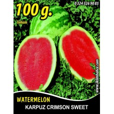 Karpuz Tohumu Crimson Sweet Tnk 100 g