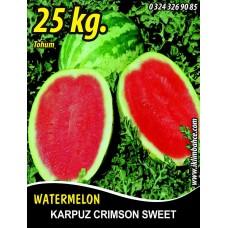 Karpuz Tohumu Crimson Sweet 25 KG