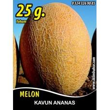 Kavun Tohumu Ananas - 25 g. (~ Takribi 350 Tohum)