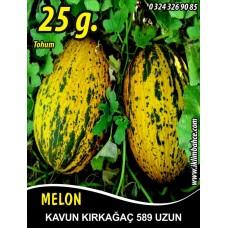 Kavun tohumu Kırkağaç 589 (Uzun) 25 g. (~ Takribi 350 Tohum)