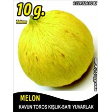 Kavun Tohumu Toros Kışlık 10 g (~ Takribi 140 Tohum)