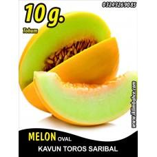 Kavun Tohumu Toros Sarıbal - 10 g (~ Takribi 140 Tohum)