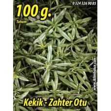 Kekik Tohumu Zahter Satureja hortensis L  - 100 g.