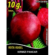 Kırmızı Pancar Tohumu - 10 g. (~ Takribi 550 Tohum)