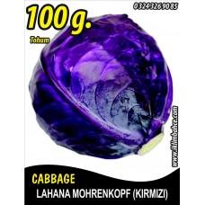 Lahana Tohumu Mohrenkopf  (Kırmızı) - 100 g