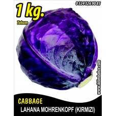 Lahana Tohumu Mohrenkopf  (Kırmızı) - 1 Kg
