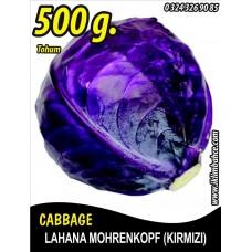 Lahana Tohumu Mohrenkopf  (Kırmızı) - 500 g
