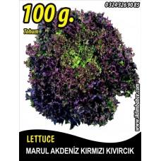Marul Tohumu Akdeniz Kıvırcığı 100 g.
