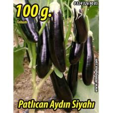Patlıcan Tohumu Aydın Siyahı 55 - 100 g.