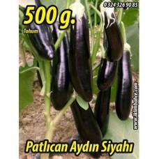 Patlıcan Tohumu Aydın Siyahı 55 - 500 g.