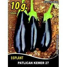 Patlıcan Tohumu Kemer 27 - 10 g. (~ Takribi 1300 Tohum)