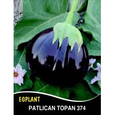 Patlıcan Tohumu Topan 374 - 25g (~ Takribi 3250 Tohum)