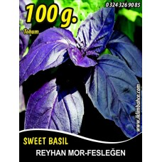 Reyhan Tohumu Fesleğen Mor Renk - 100 g