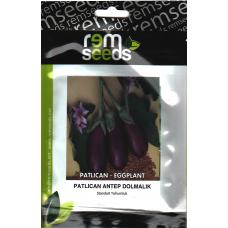 Patlıcan Tohumu Antep Dolmalık - 5 g (~ Takribi 1000 Tohum)