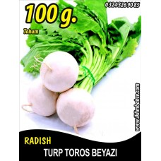 Turp Tohumu Toros Beyazı - 100g