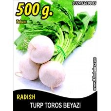 Turp Tohumu Toros Beyazı - 500g