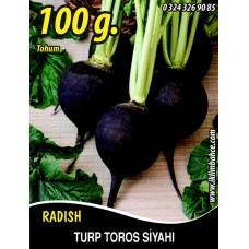 Turp Tohumu Toros Siyahı - 100g